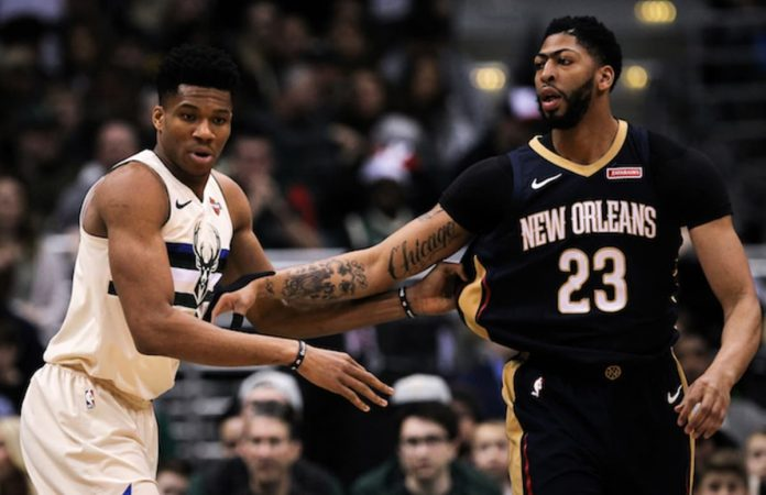 Giannis Antetokounmpo Anthony Davis
