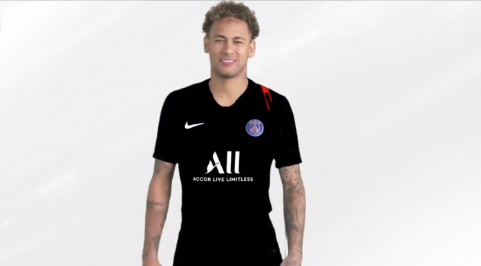 PSG Accor Neymar