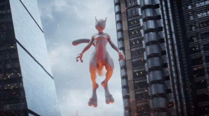 Pokemon Detective Pikachu Mewtwo