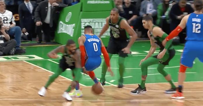 Russell Westbrook OKC Celtics