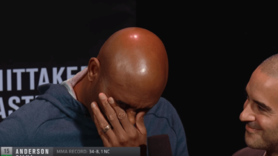 UFC 234 Anderson Silva weigh in