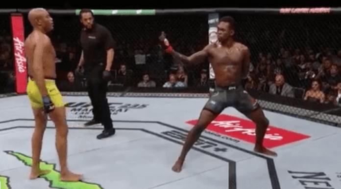 UFC 234 decision Israel Adesanya Anderson Silva