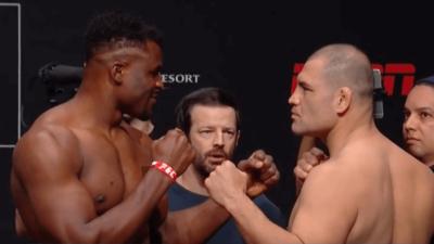 UFC Francis Ngannou vs. Cain Velasquez – carte, pesée et horaire