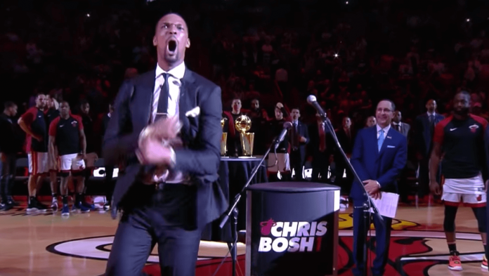 Chris Bosh Ceremonie