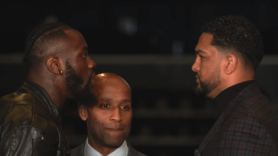 Deontay Wilder Dominic Breazeale
