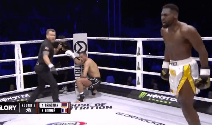 Glory 64 - Cedric Doumbé explose Grigorian et prend la ceinture