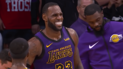 LeBron James Lakers Nets