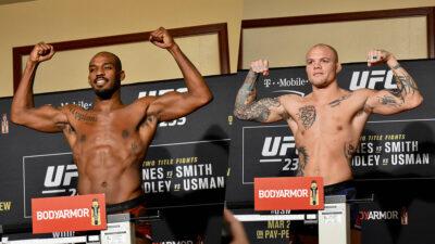 UFC 235 Jon Jones Anthony Smith resultats results fight