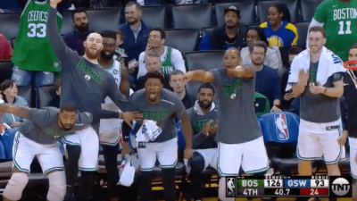 Warriors Celtics