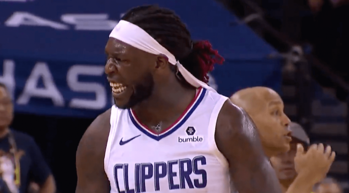 Clippers Warriors Harrell Montrezl