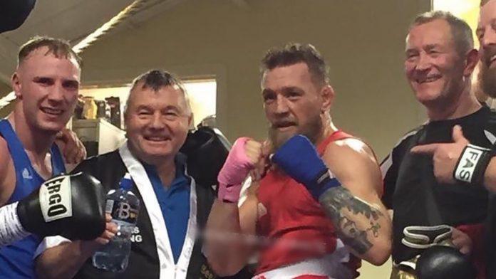 Conor McGregor amateur boxing