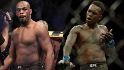 Jon Jones Israel Adesanya