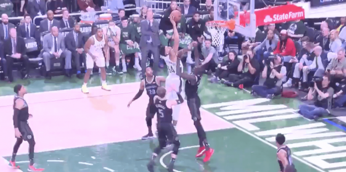NBA Playoffs Giannis Thon Maker Bucks
