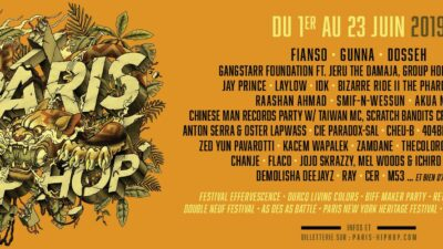 Le Paris Hip Hop Festival : Le rendez-vous hip-hop de juin