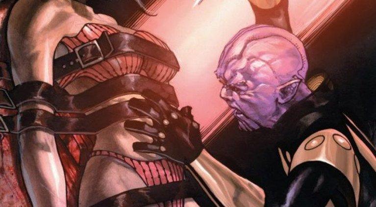 Thanos s'apprêtant à disséquer sa mère…