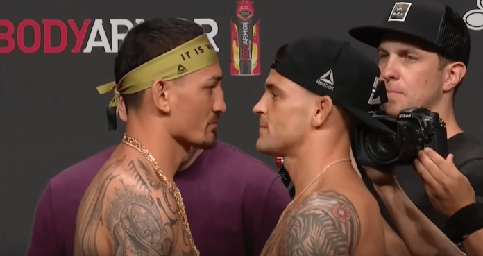 UFC 236 Max Holloway Dustin Poirier