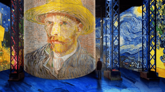 Van Gogh la nuit etoilee