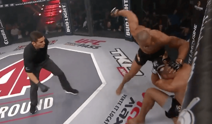 Ciryl Gane TKO MMA