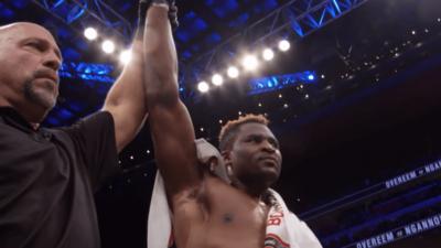 Francis Ngannou UFC MMA France