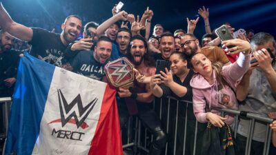 WWE Paris France