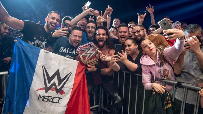 WWE Paris France