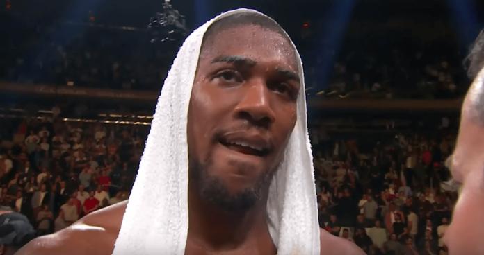 Anthony Joshua TKO