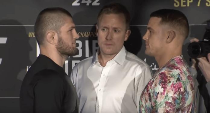 Khabib Nurmagomedov Dustin Poirier UFC