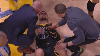 Klay Thompson Warriors ACL