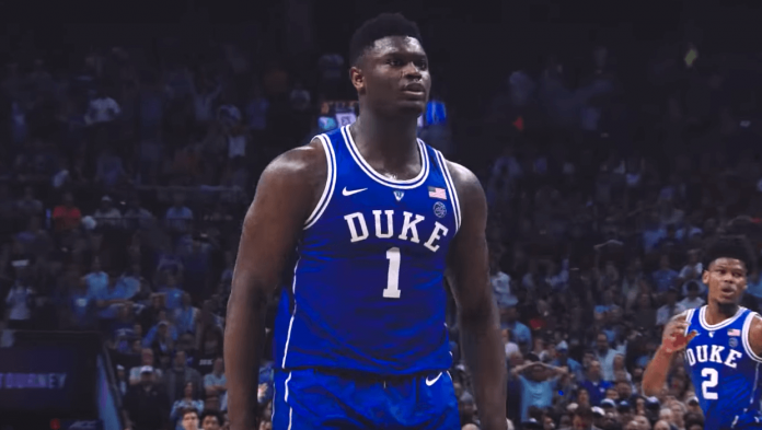 NBA Draft 2019 Zion Williamson