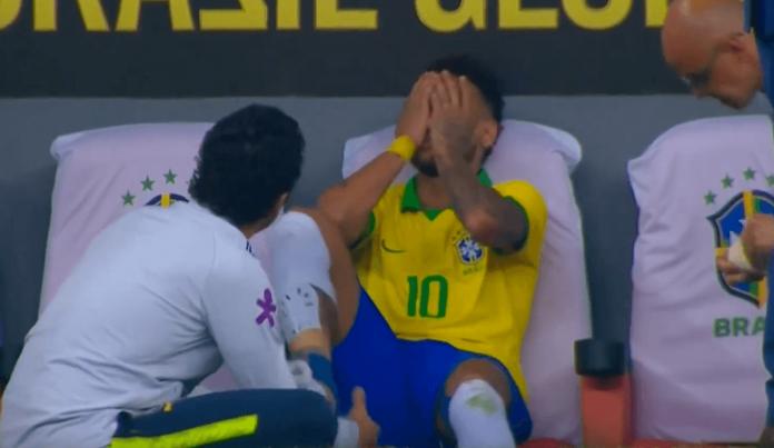Neymar blessure