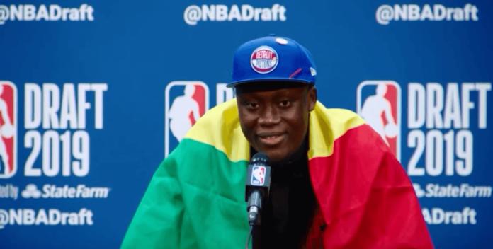 Sekou Doumbouya Draft 2019