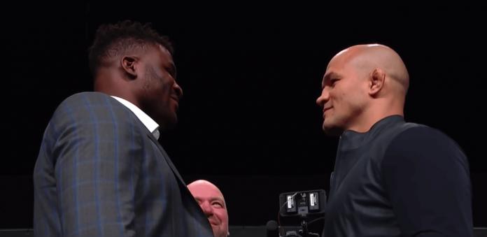 UFC Francis Ngannou vs Junior Dos Santos