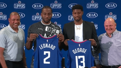Kawhi Leonard Paul George Clippers