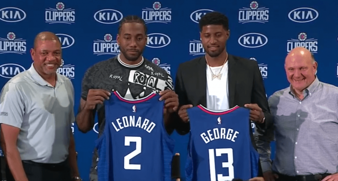 Kawhi Leonard Paul George Clippers