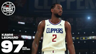 NBA 2K20 joueurs notes