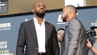 UFC 235 Thiago Santos Jon Jones