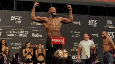 UFC 239 Jon Jones Thiago Santos
