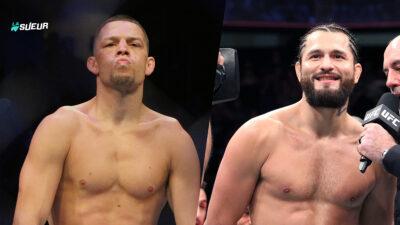 Jorge Masvidal Nate Diaz UFC 244