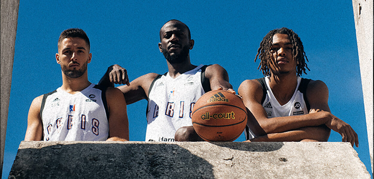 Paris Basketball Adidas maillot