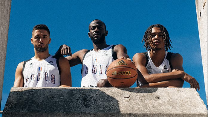 Paris Basketball Adidas maillot