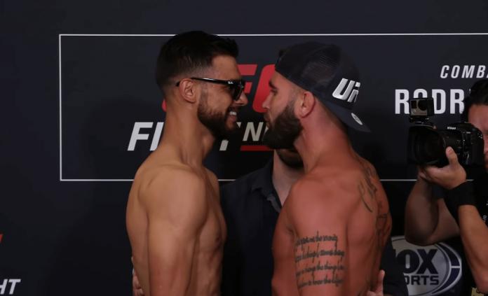 Yair Rodriguez Jeremy Stephens UFC