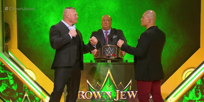 Cain Velasquez Brock Lesnar 2 WWE