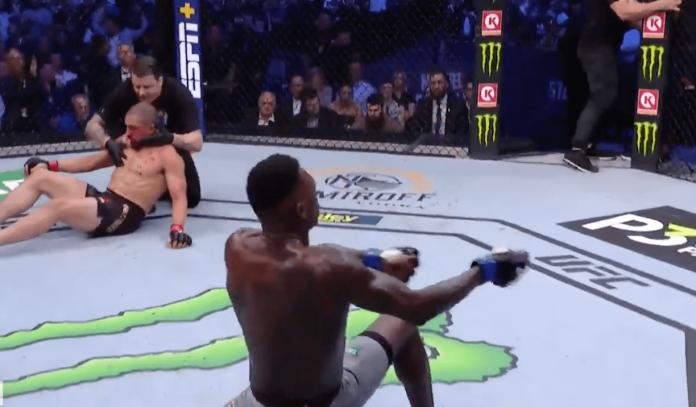 Israel Adesanya Robert Whittaker UFC 243 KO