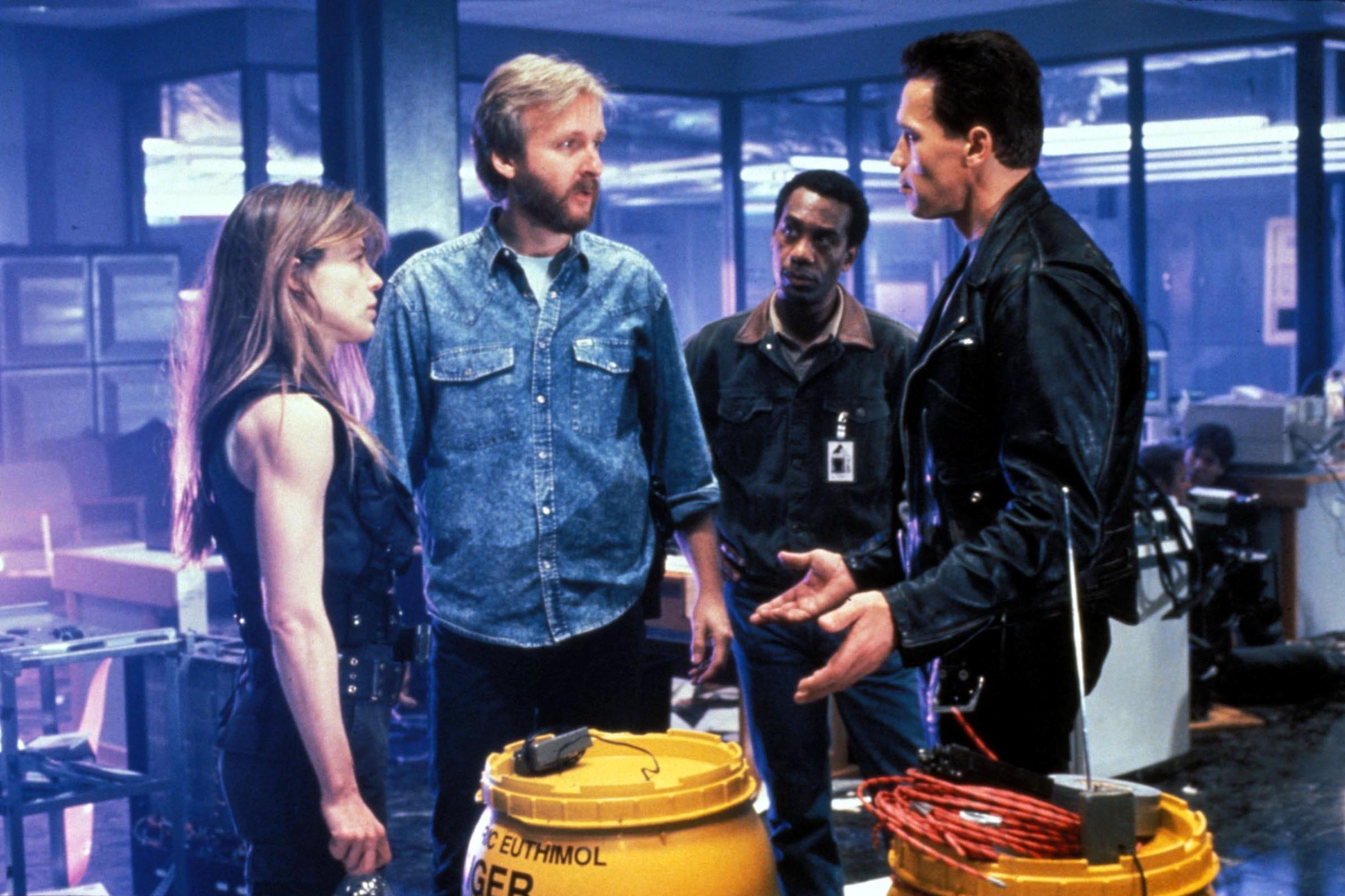 James Cameron Arnold Schwarzenegger