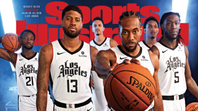 Los Angeles Clippers City Edition 2019 2020