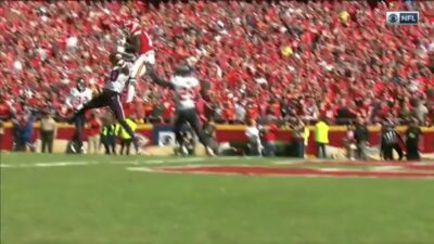 Tyreek Hill catch