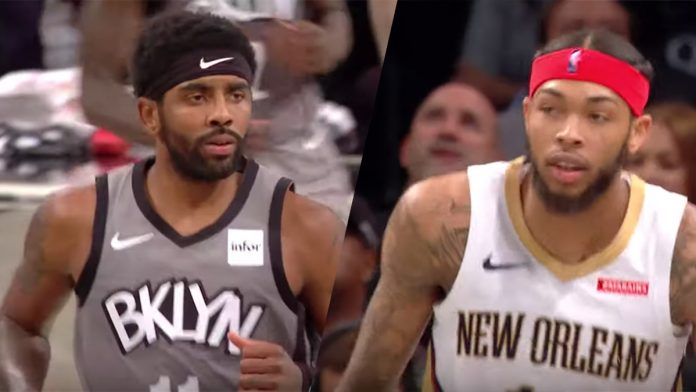 Brandon Ingram Kyrie Irving Nets Pelicans