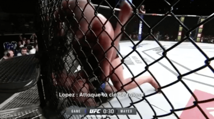 Ciryl Gane UFC Singapour soumission
