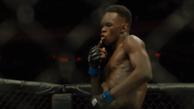 Israel Adesanya celebration UFC