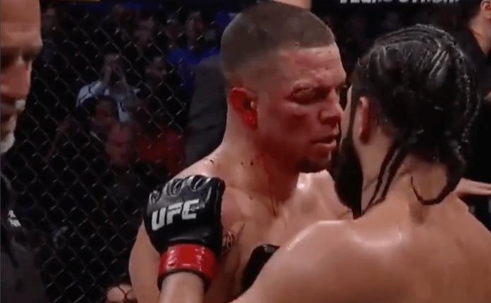 Nate Diaz Jorge Masvidal UFC 244 TKO